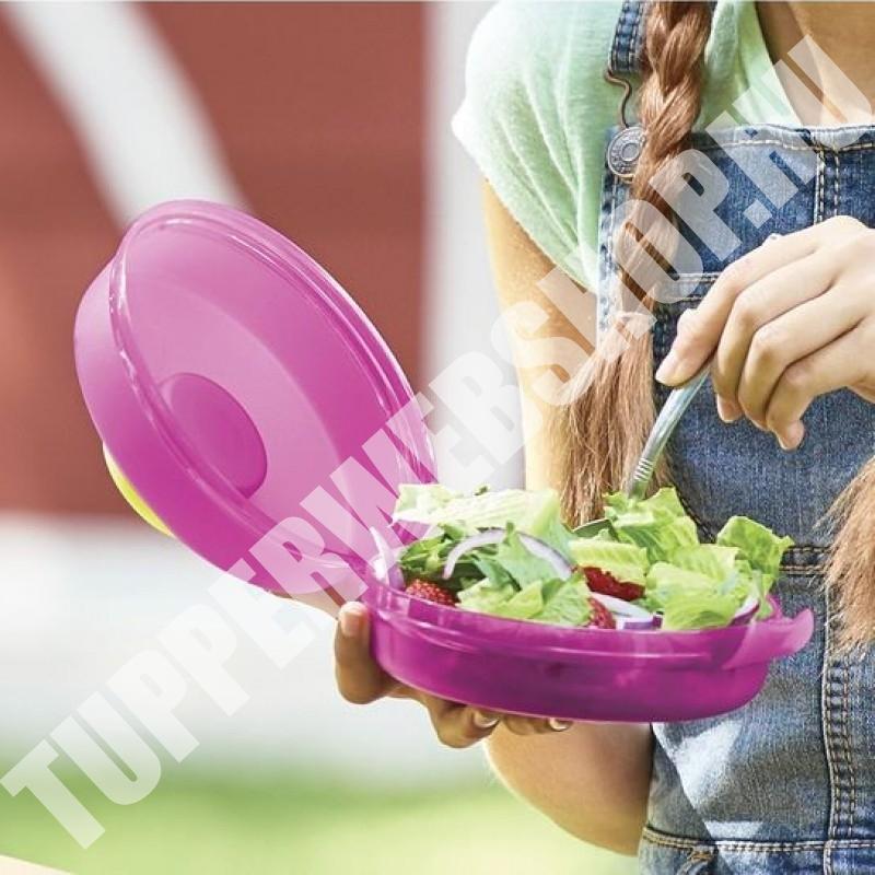 Tupperware Kerek  salátázó, hamburgerező
