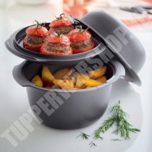 Tupperware kerek ultra pro 2,5 L+tető