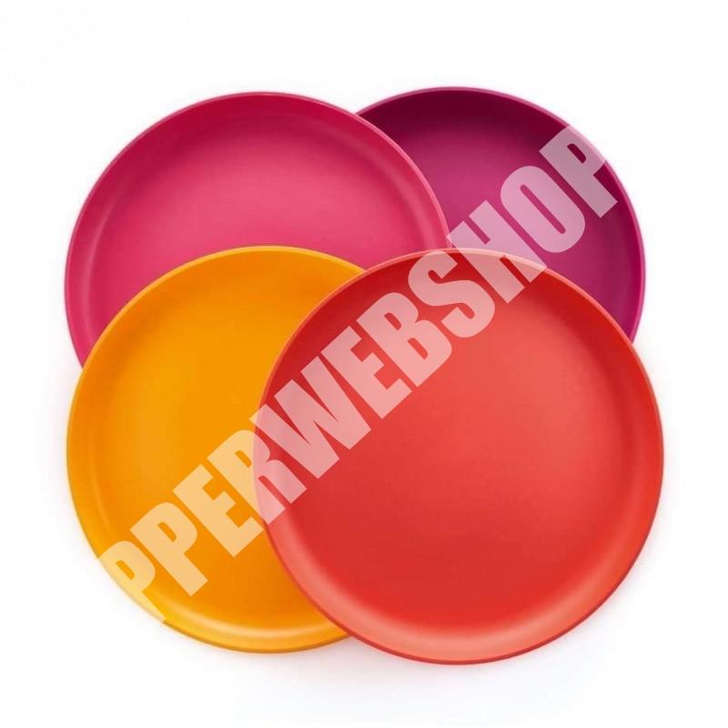 Tupperware Allegra Tányér szett /4db tányér/